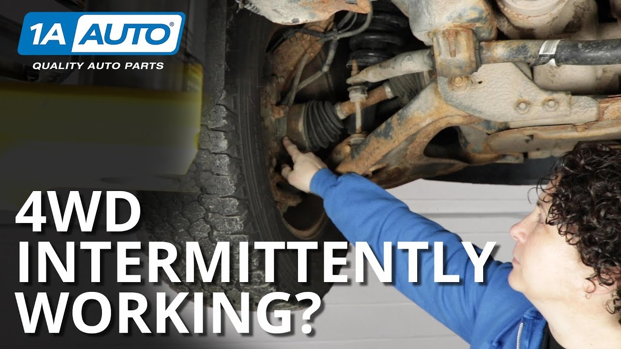 4WD Intermittently Working or Grinding? Quick Fix For Auto Locking Hubs