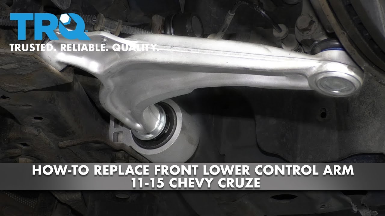 How to Replace Front Lower Control Arm 11-15 Chevy Cruze