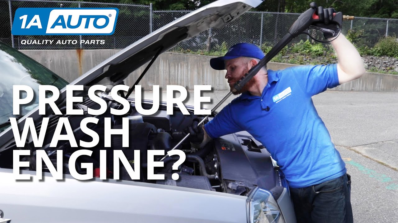 Should You Pressure Wash Your Car Truck or SUVs Engine Bay