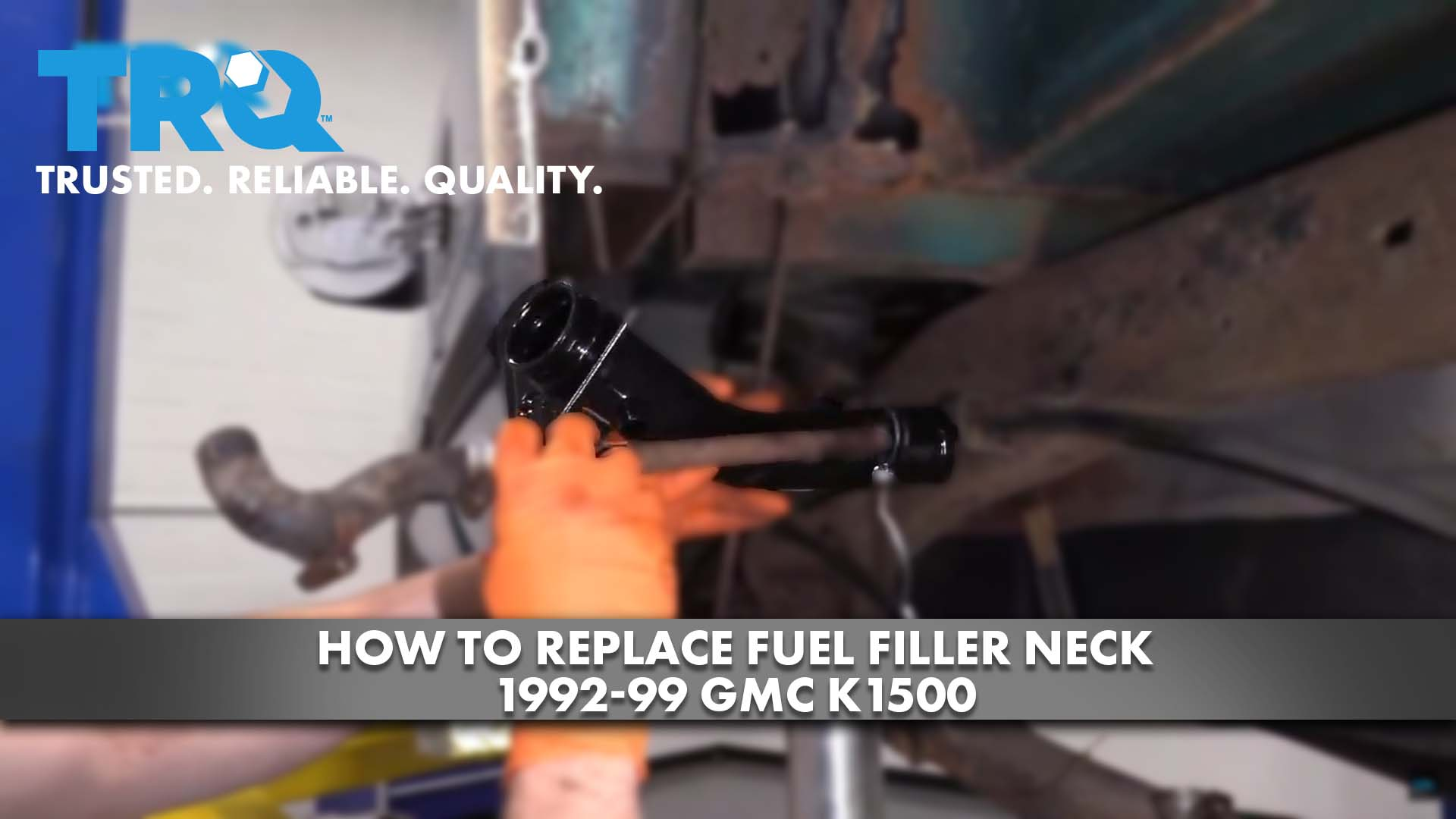 How To Replace Fuel Filler Neck 1992-99 GMC K1500