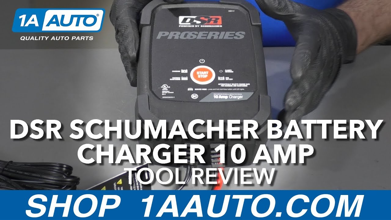 DSR Schumacher Battery Charger 10 Amp - Available at 1AAuto.com