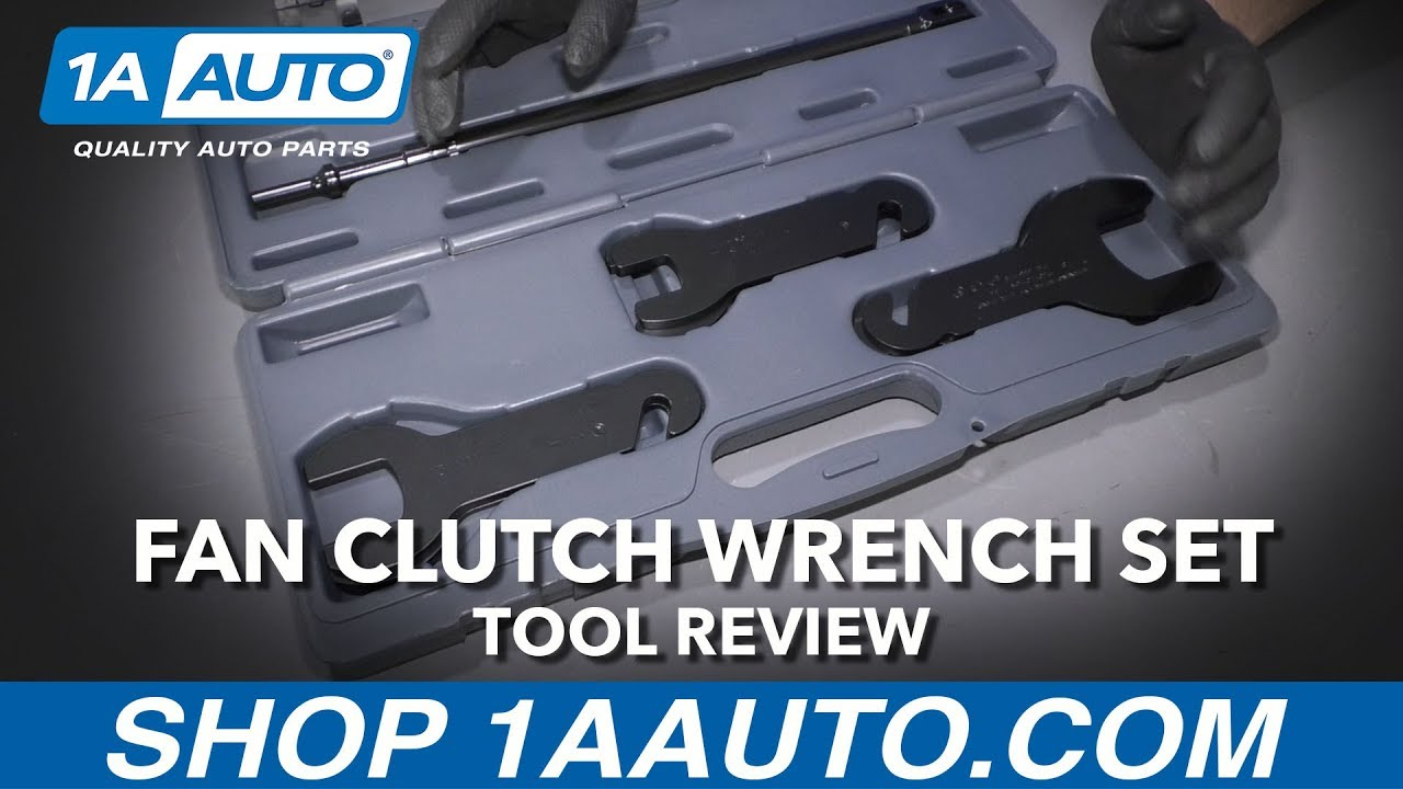 8pc Pneumatic Fan Clutch Wrench Set - Available at 1AAuto.com