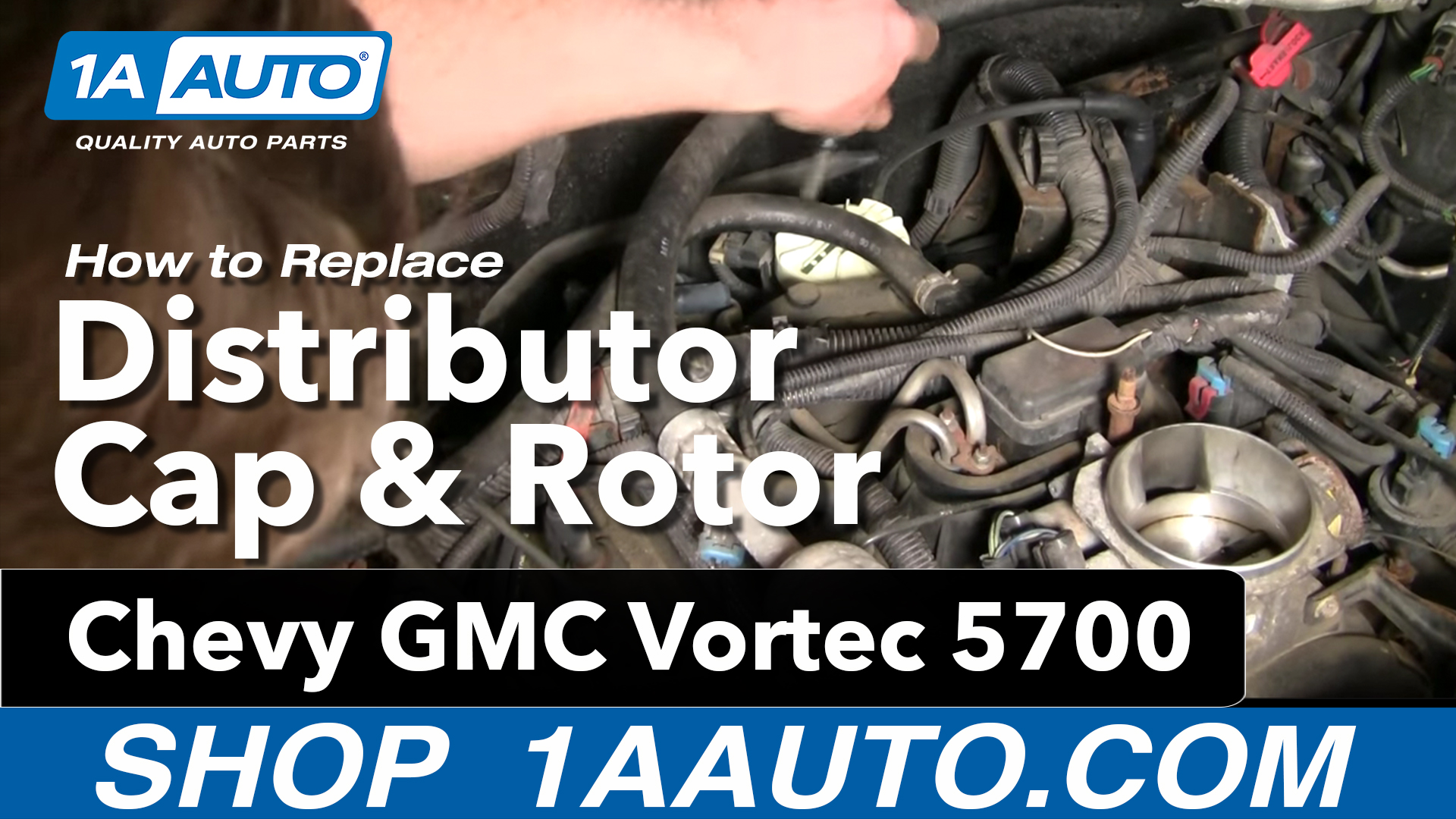How to Replace Distributor Cap 96-00 Chevy Tahoe