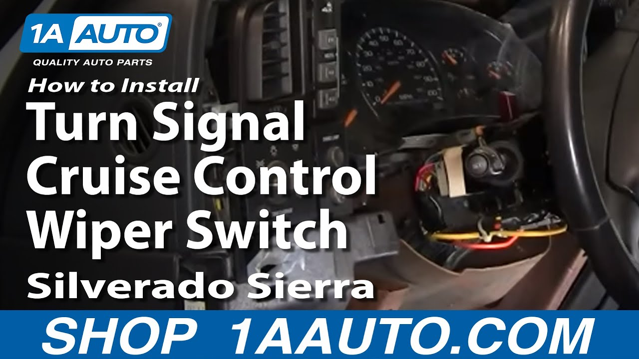 How to Replace Combination Switch 99-02 GMC Sierra 2500