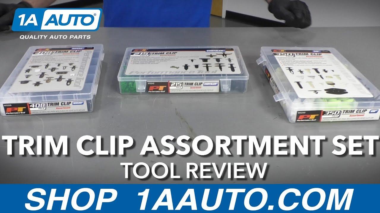 Trim Clip Assortment Set - Available at 1AAuto.com