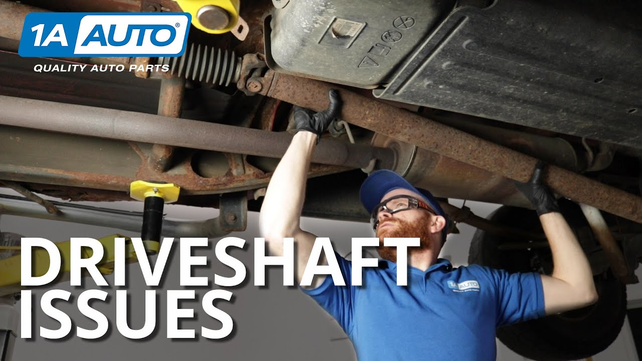 How to Diagnose Truck Drive Shaft Problems - Vibrations and Noise
