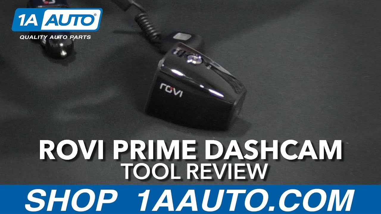 Rovi Prime Dashcam - Available at 1AAuto.com