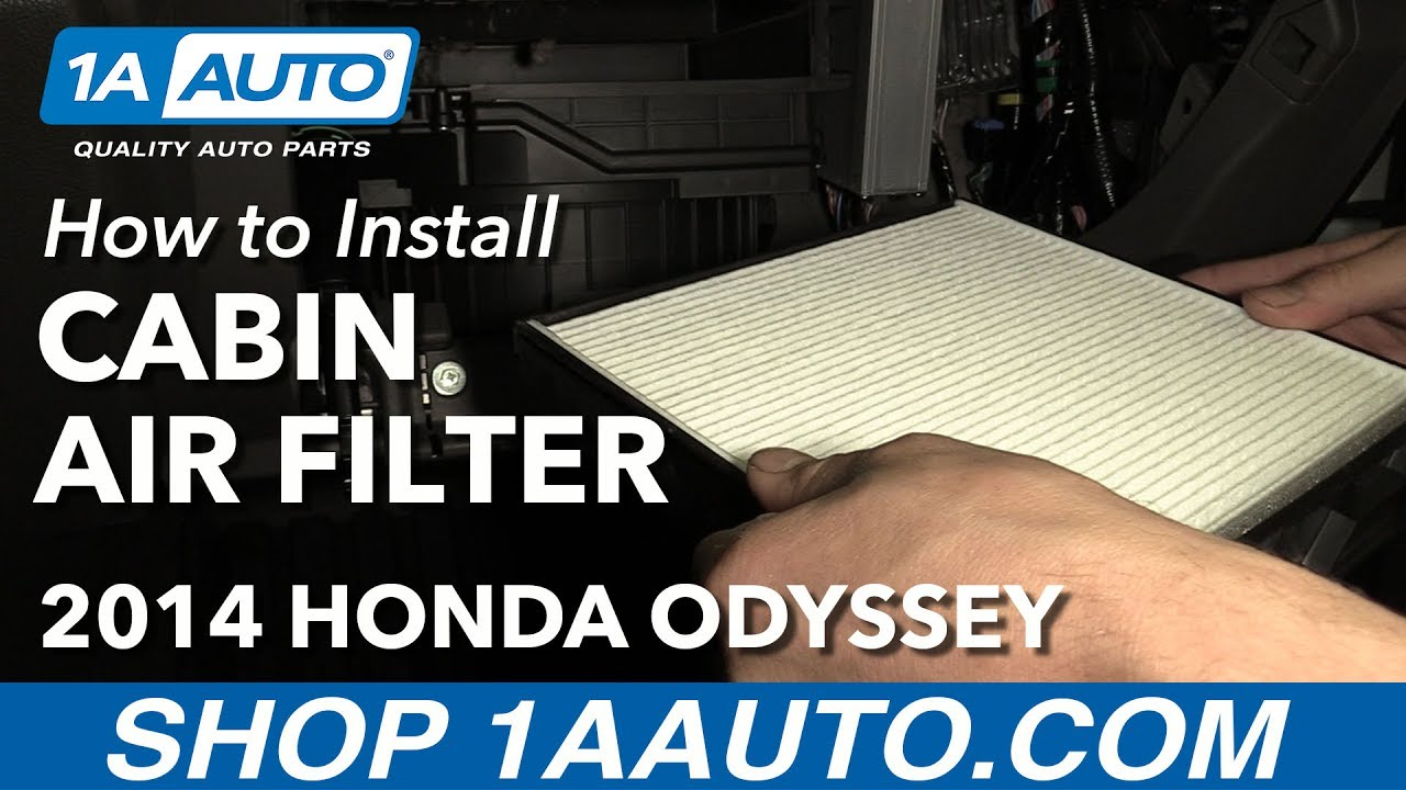 How to Replace Cabin Air Filter 05-16 Honda Odyssey