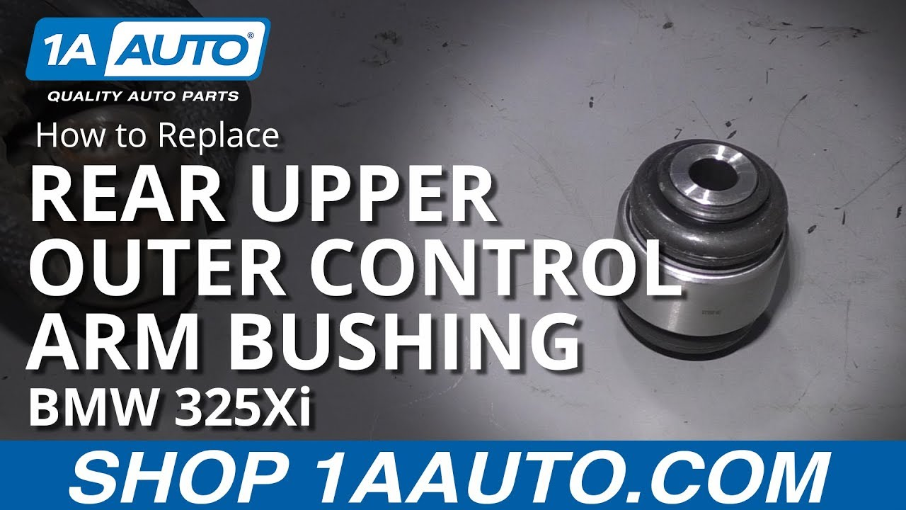 How to Replace Rear Upper Outer Control Arm Bushing 01-05 BMW 325Xi