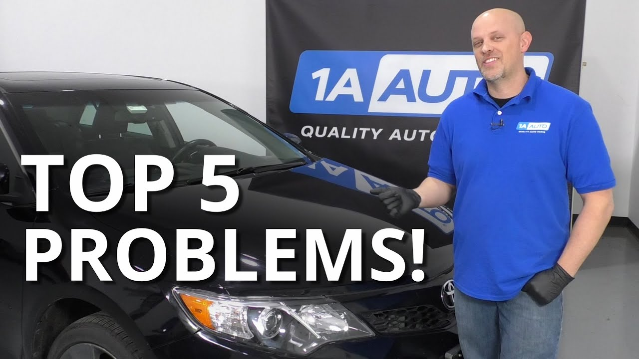 Top 5 Problems Toyota Camry Sedan 7th generation 2011-19