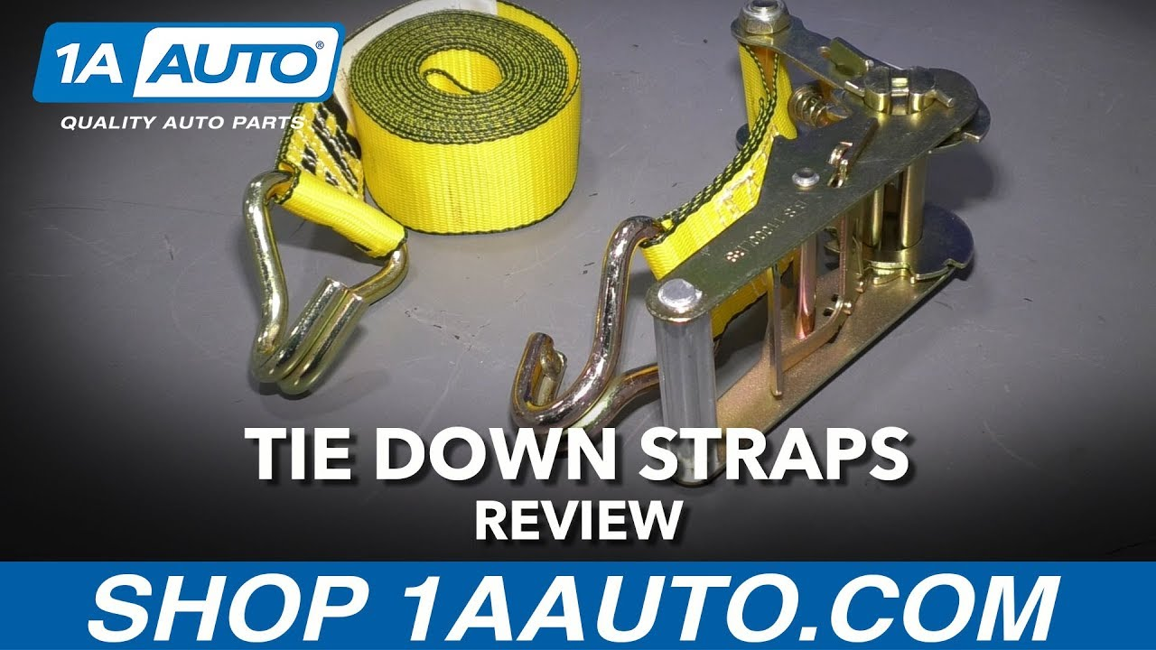 Tie Down Straps - Available at 1AAuto.com