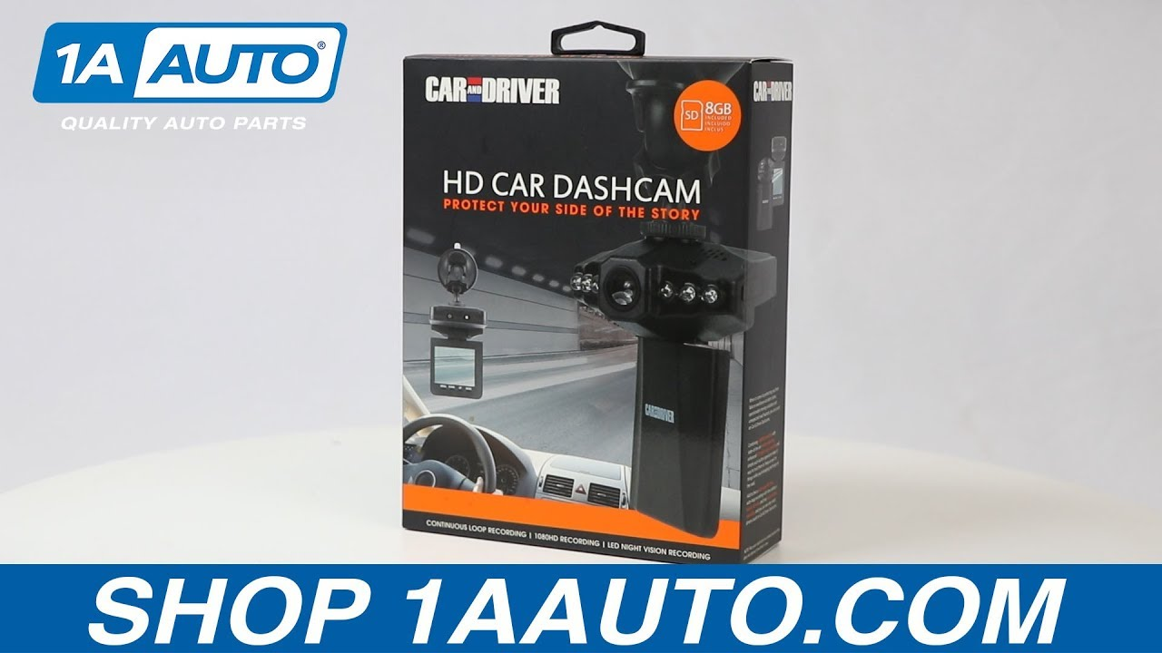 HD Car Dashcam - Available on 1aauto.com