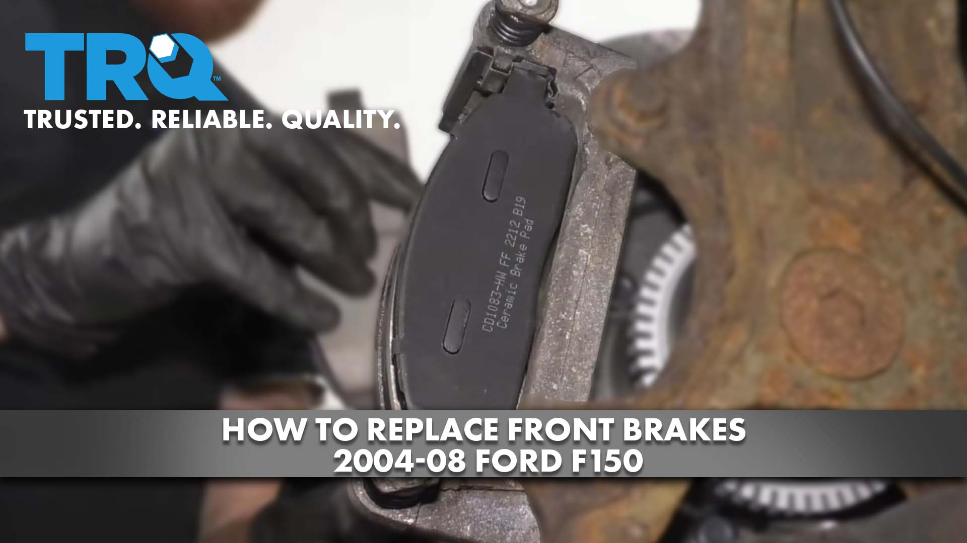 How to Replace Front Brakes 2004-08 Ford F150