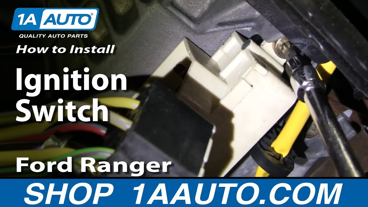 How to Replace Ignition Switch 95-04 Ford Ranger Hang Wiring Diagram Expedition on