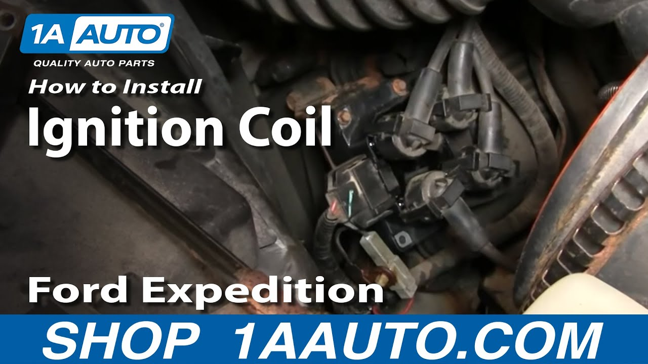 How To Replace Ignition Coil Ford 97-02 Expedition