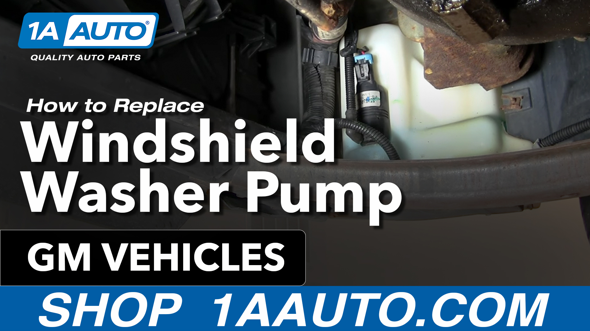 How to Replace Windshield Washer Pump 95-01 Pontiac Sunfire