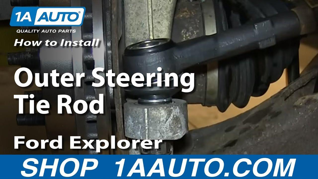 How to Replace Tie Rod 98-05 Mercury Mountaineer