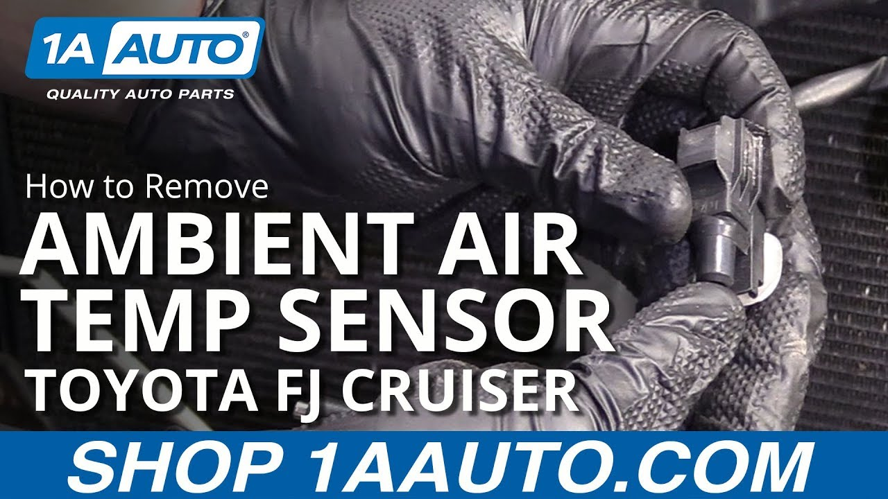 How to Remove Ambient Air Temp Sensor 07-14 Toyota FJ Cruiser