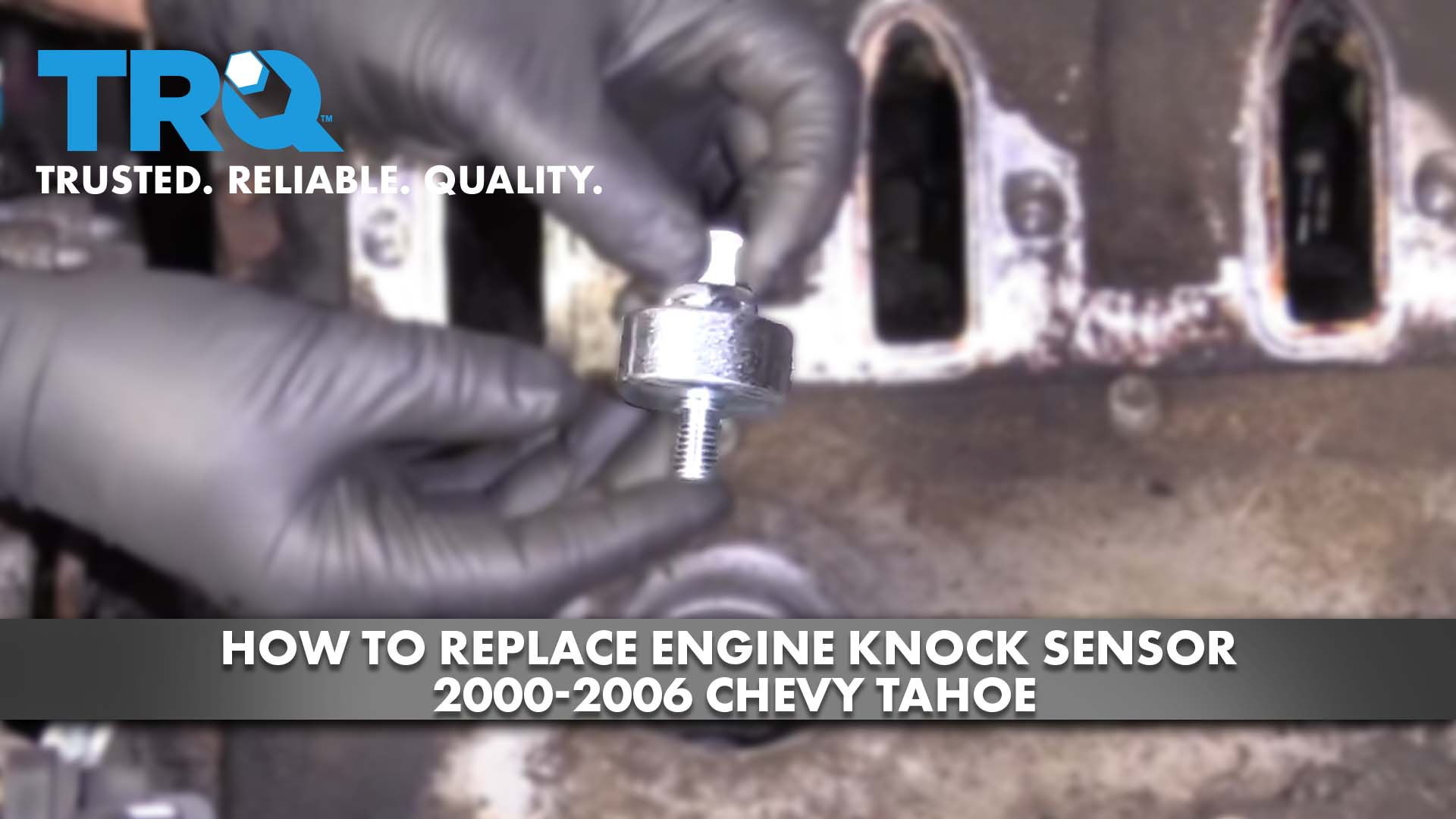 How To Replace Engine Knock Sensor 2000-06 Chevy Tahoe