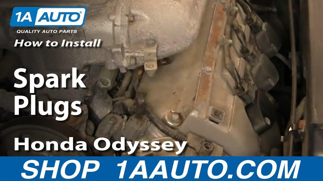 How to Replace Spark Plug 99-04 Honda Odyssey