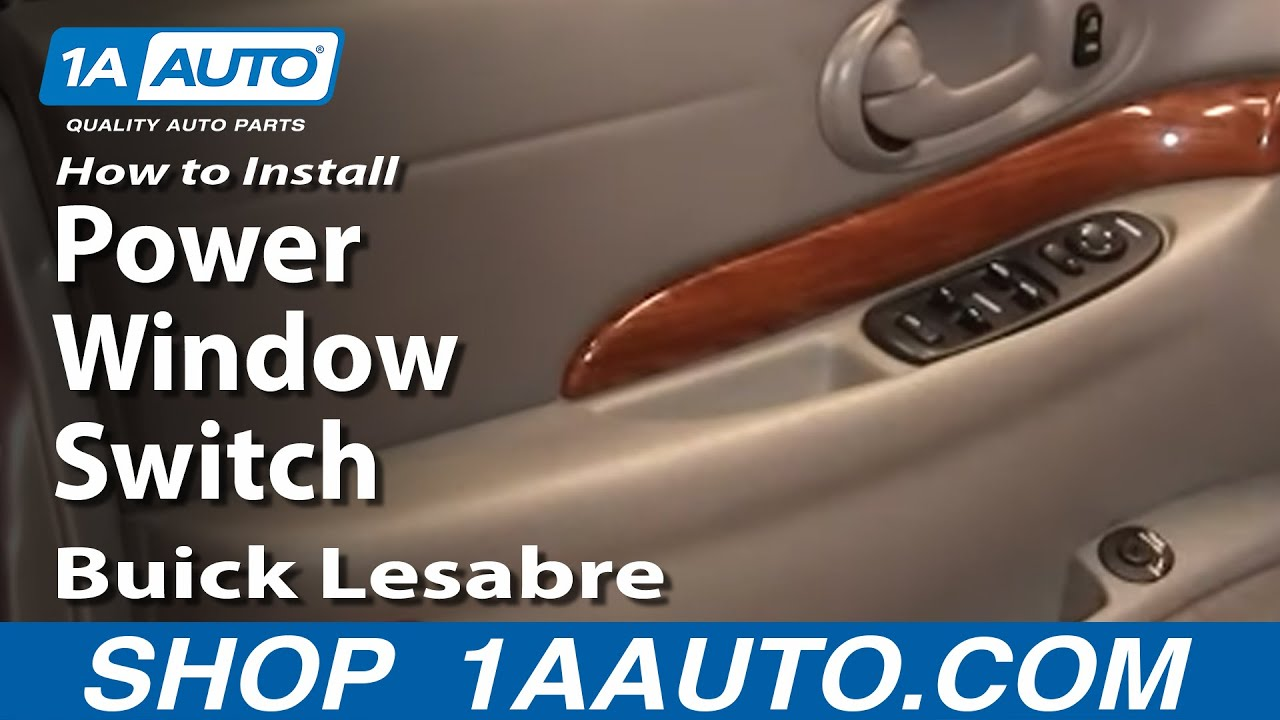 Buick Lesabre Power Window Repair
