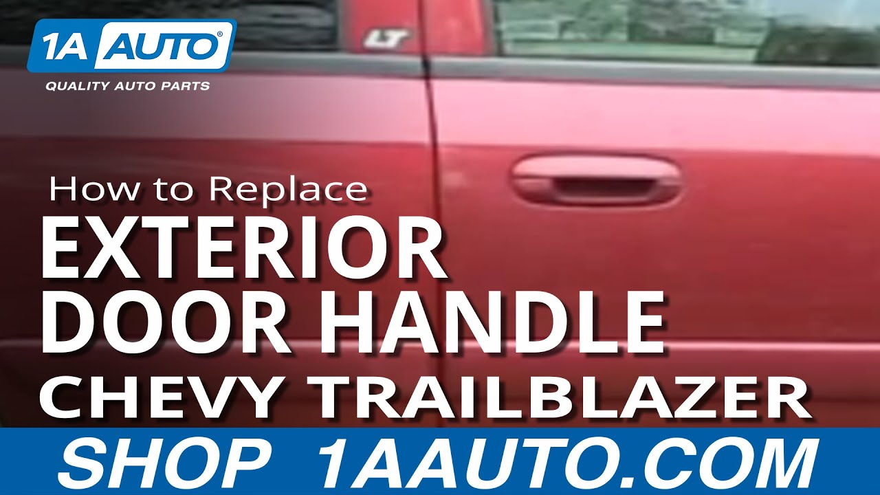 How to Replace Exterior Door Handle 02-09 Chevy Trailblazer