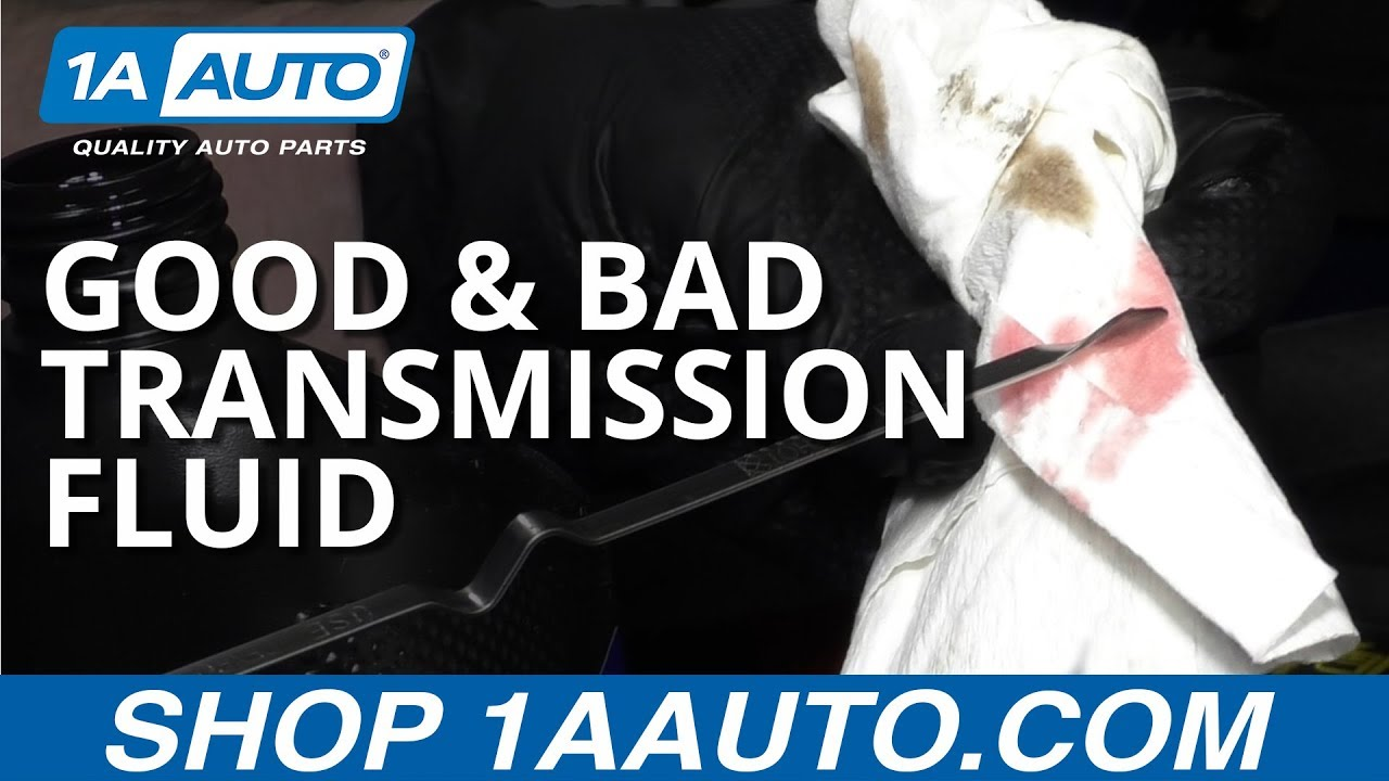 What Does Bad Transmission Fluid Look Like? Good vs Bad