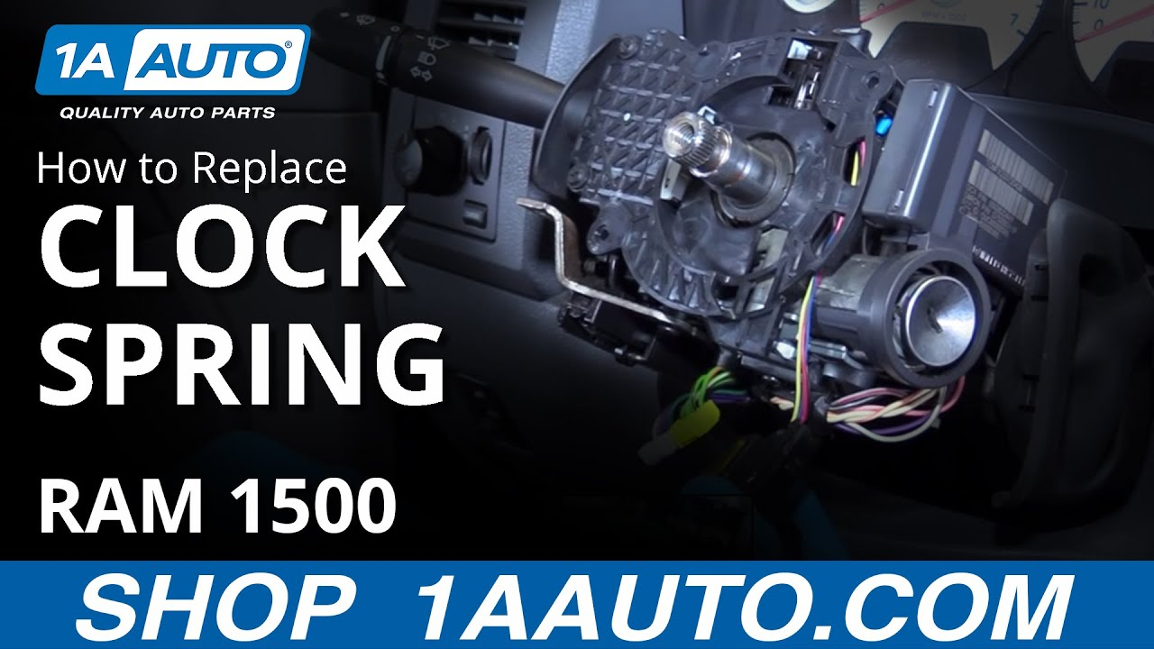 How to Replace Airbag Clock Spring 04-08 Dodge Ram 1500