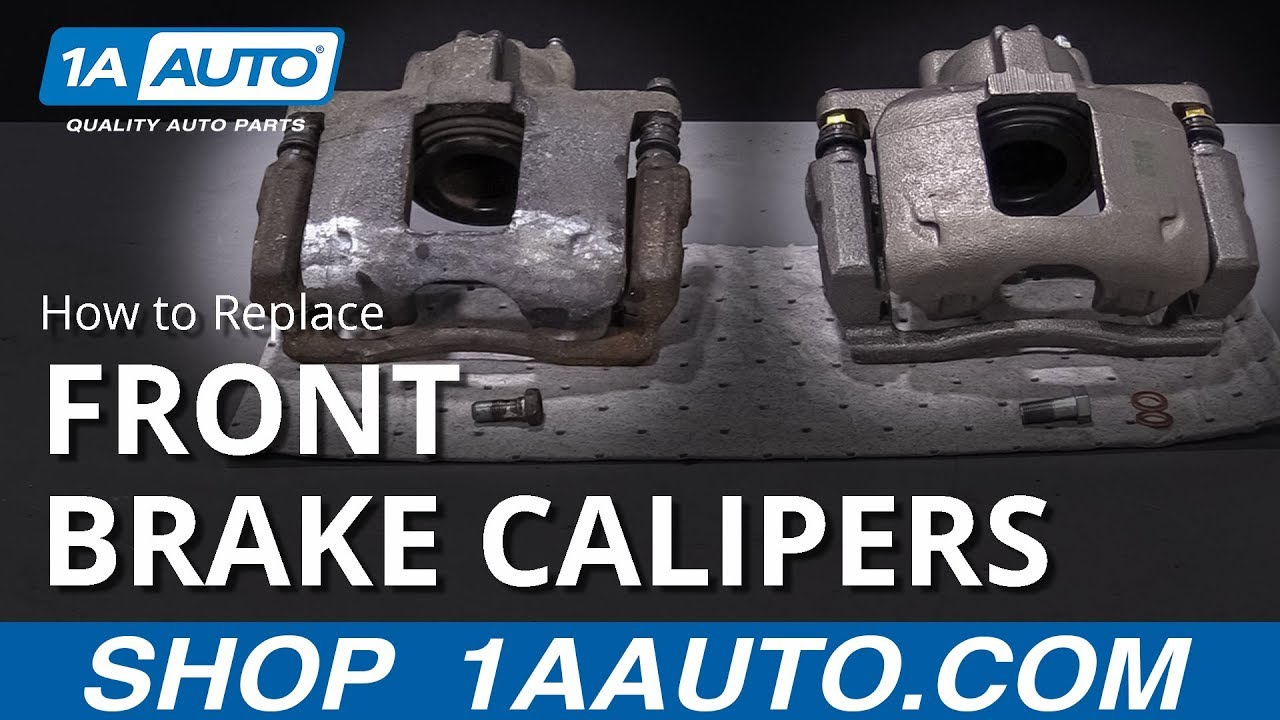 How to Replace Front Brake Calipers On Any Car!