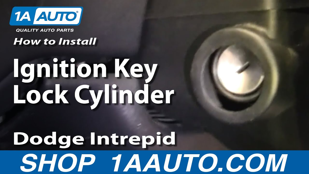 How to Replace Ignition Lock Cylinder 98-04 Dodge Intrepid