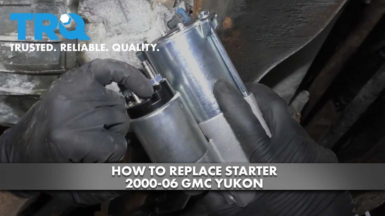 How to Replace Starter 2000-06 GMC Yukon