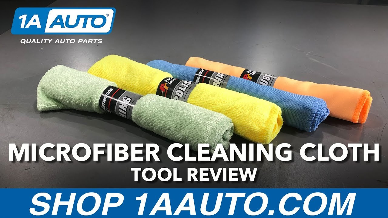 Microfiber Cleaning Cloth - Available on 1aauto.com