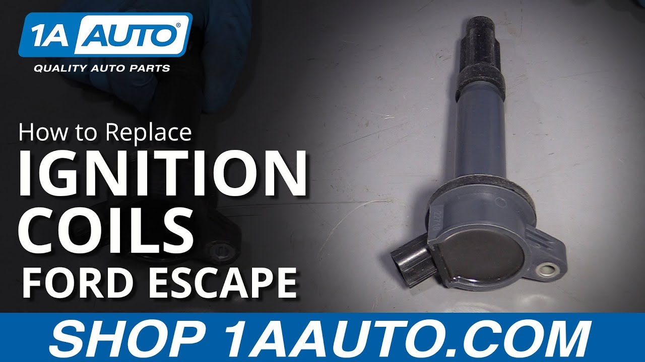 How to Replace Ignition Coils 09-12 Ford Escape