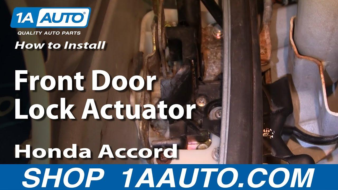 How to Replace Door Lock Actuator 94-97 Honda Accord