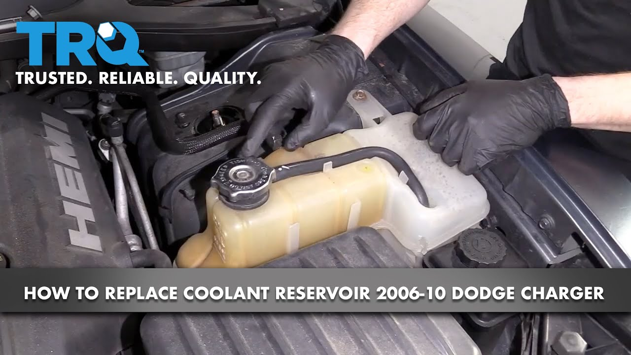 How to Replace Coolant Overflow Tank 2006-10 Dodge Charger