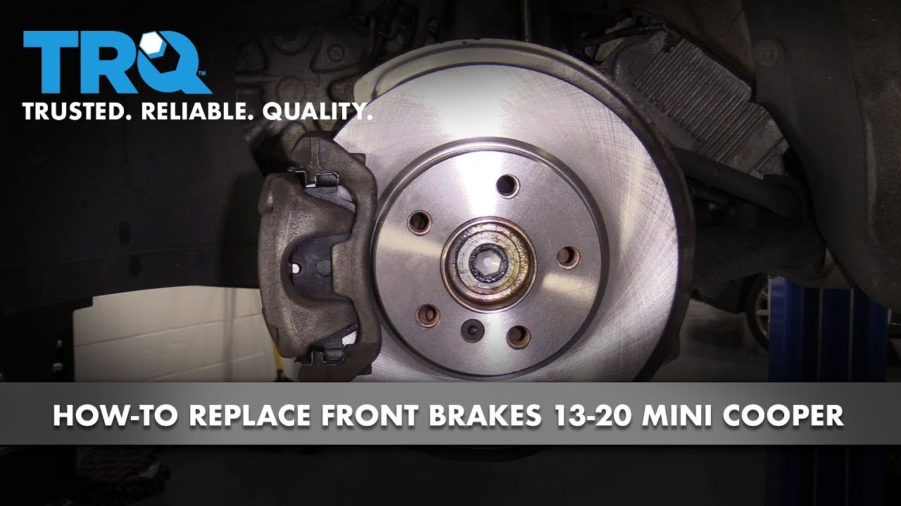 How to Replace Front Brakes 13-20 Mini Cooper