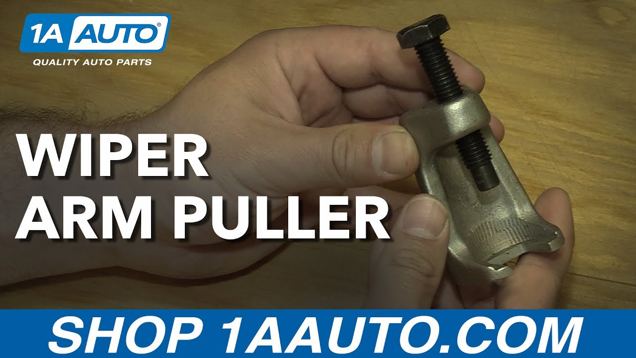 How to Remove a Wiper Arm with 1AAuto's Wiper Arm Puller