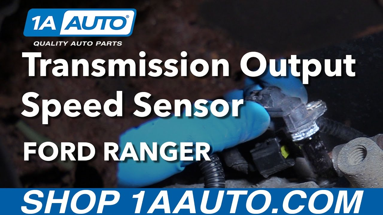 How to Replace Speed Sensor Automatic Transmission 97-11 Ford Ranger
