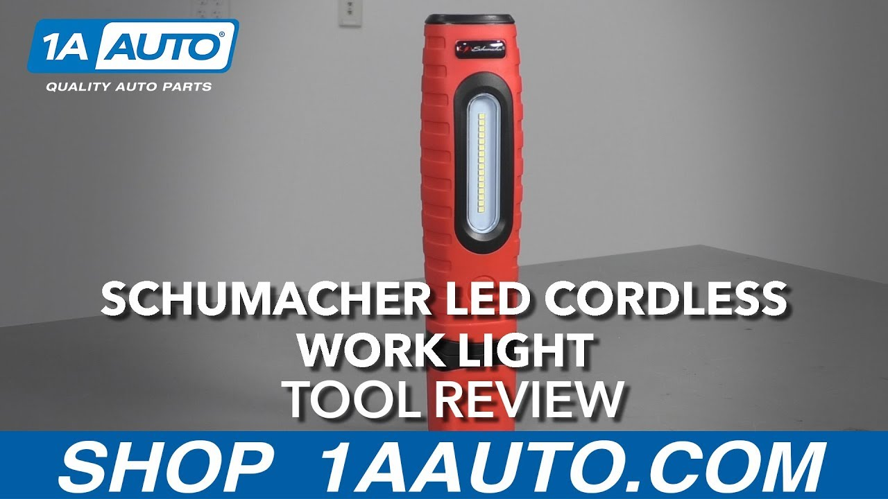 Schumacher LED Cordless Work Light - Available at 1AAuto.com