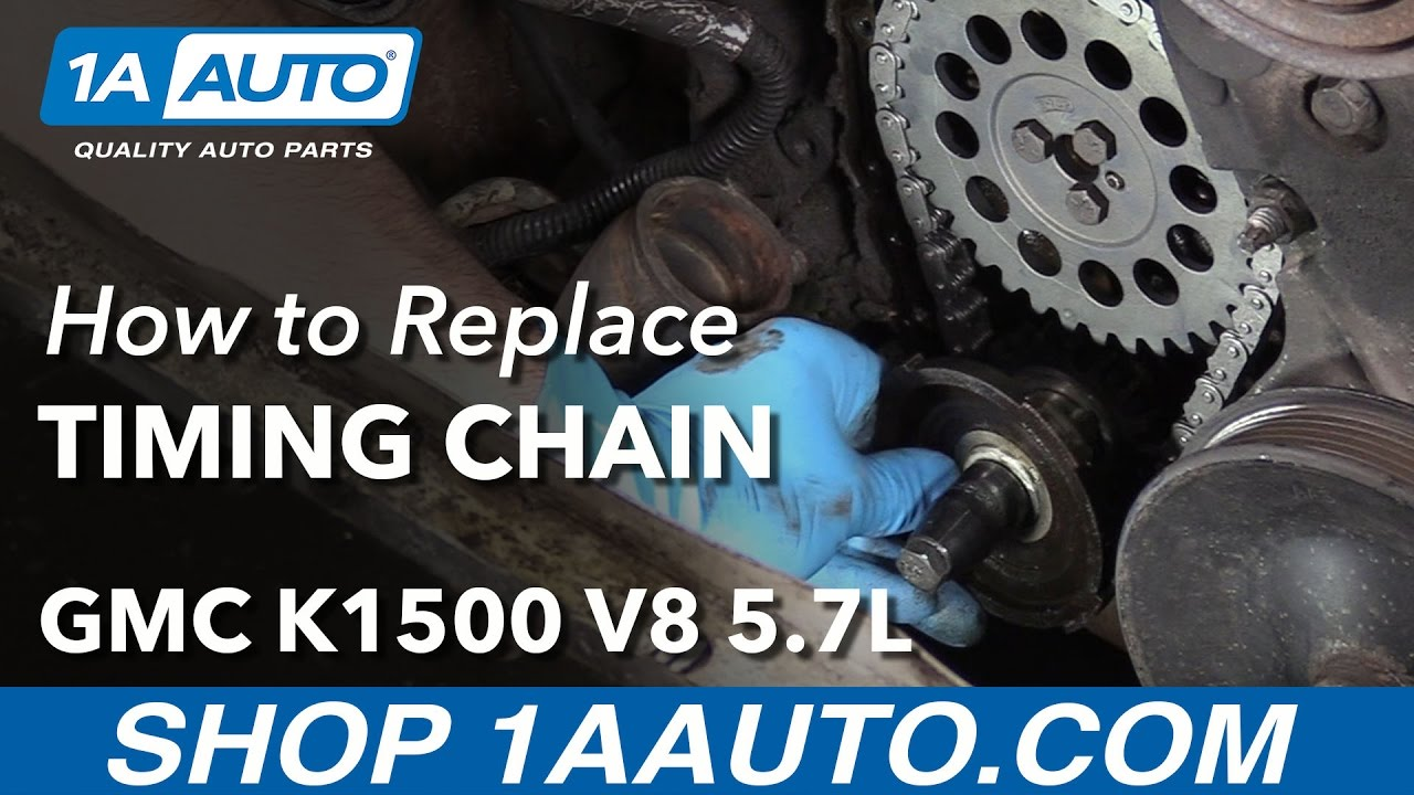 How to Replace Timing Chain 96-99 GMC K1500 5.7L