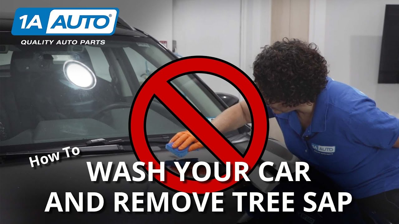 Tricks to Remove Sticky Gunk How to Wash Your Car  Repair Scratches