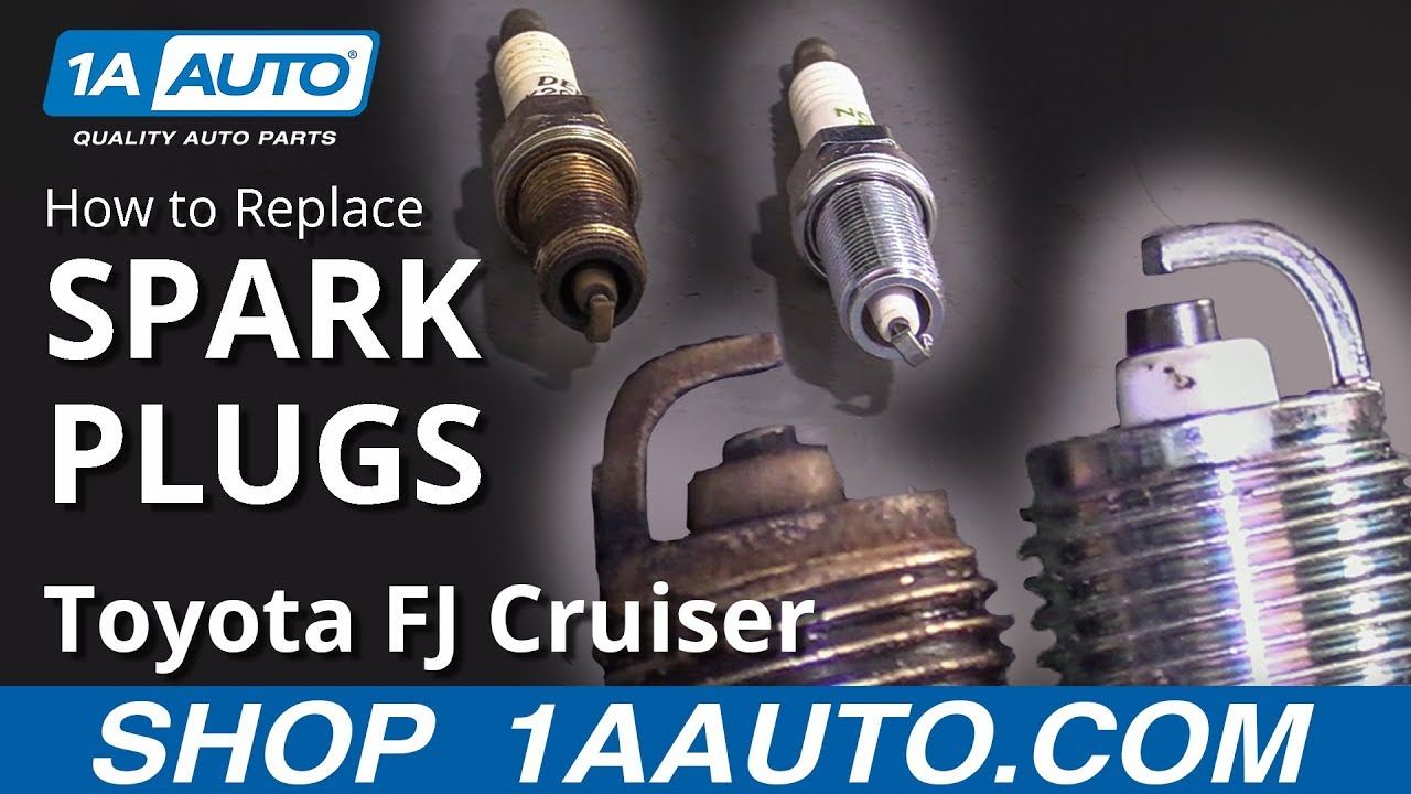 How to Replace Spark Plugs 07-14 Toyota FJ Cruiser