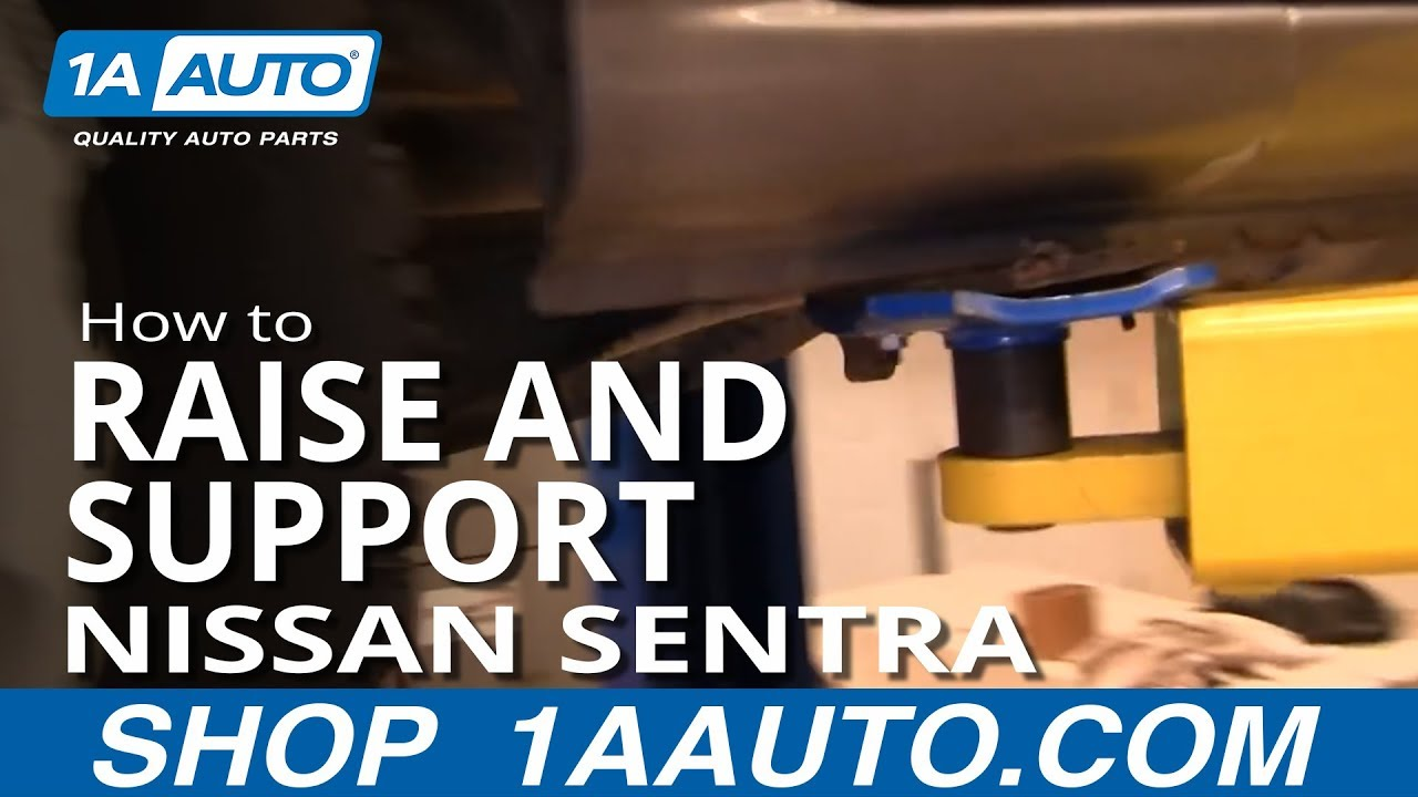 How to Raise and Support 00-06 Nissan Sentra
