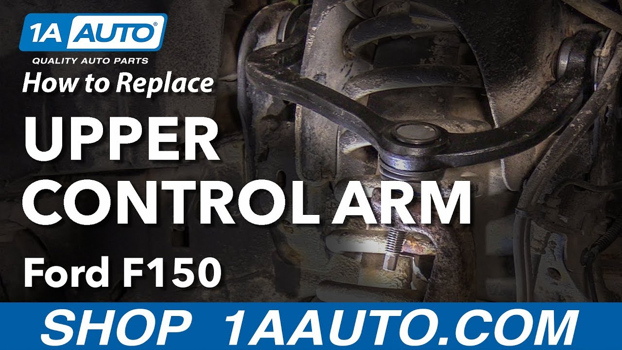 How to Replace Upper Control Arm 09-14 Ford F-150