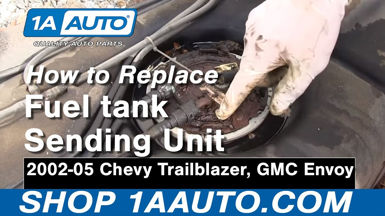 How to Replace Fuel Pump & Sending Unit Module 02-04 GMC Envoy XL  F Fuel Tank Wiring Harness on