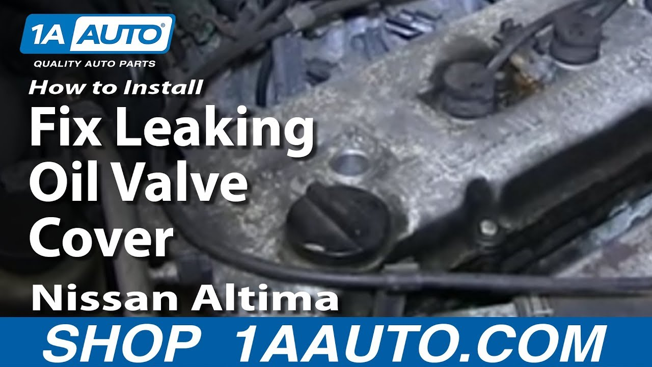 How To Replace Valve Cover Gasket 98 -01 Nissan Altima