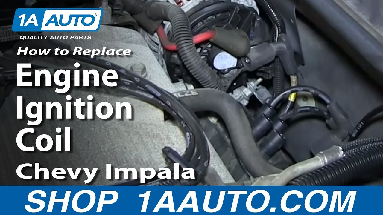 diagram for 2006 chevy uplander engine how to replace ignition coil 06 11 chevy impala 1a auto  ignition coil 06 11 chevy impala
