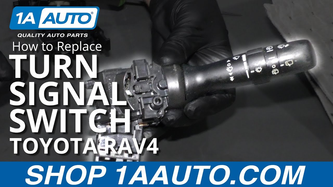 How to Replace Turn Signal Switch 05-16 Toyota RAV4