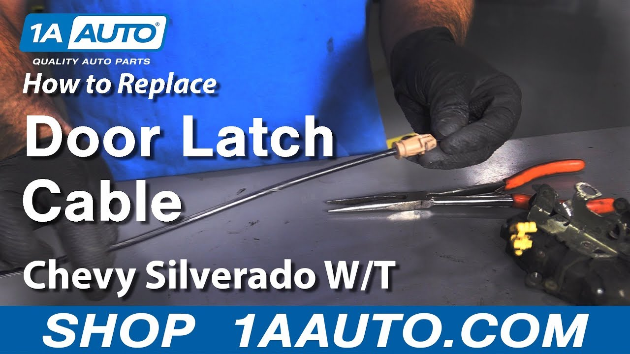 How to Replace Door Latch Cable 07-13 Chevy Silverado