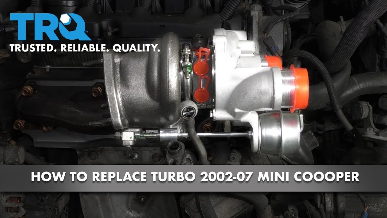 How to Replace Turbocharger 2002-07 Mini Cooper S